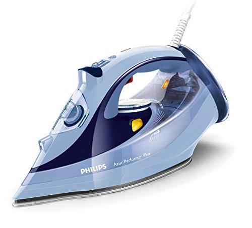 Philips Azur Performer Plus GC4526/20 - Plancha de vapor, potencia 2600 W, vapor continuo 50 g/min, suela cerámica con refuerzo de titanio T-IonicGlide