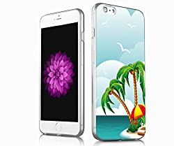V.point iPhone 6S Cover Colorful Clear Slim Case, iphone 6 cover case, the latest new design for iphone 6S,6 -hawaii style