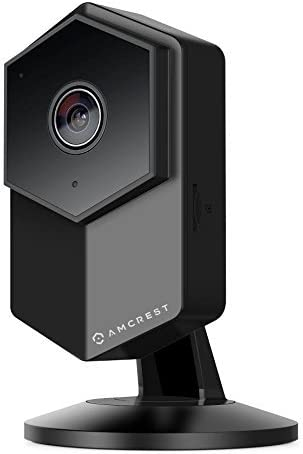 Amcrest UltraHD Shield 2K 3-Megapixel Dual-Band WiFi Video Security IP Camera w Two-Way Audio, MicroSD Recording, Wide 140 FOV, HD 3MP 2304 1296 20FPS IP3M-HX2 Black Renewed