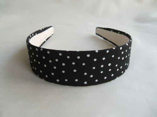 Black White Dots Headband