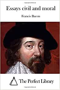 essays francis bacon amazon Amazonin - buy the essays of francis bacon book online at best prices in india on amazonin read the essays of francis bacon book reviews & author details and more.