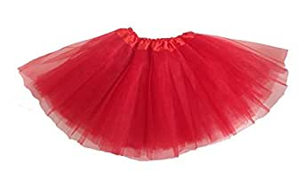 Girls Ballet Tutu Red