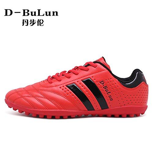 Xing Lin Botas De Fútbol Nueva Chica Adolescente Spike Fútbol Zapatos Rotos red