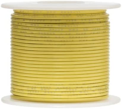 100 feet Length UL1015 Red 0.0508 Diameter 600 Volts Remington Industries 16UL1015STRRED 16 AWG Gauge Stranded Hook Up Wire