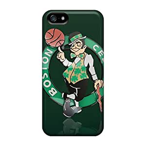 For Collect Saving Iphone Protective Case, High Quality For Iphone 5/5s Boston Celtics Logo Skin Case Cover