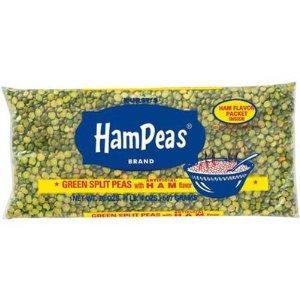 Hurst's Green Split Peas 20 OZ (Pack of 24) by Hurst's