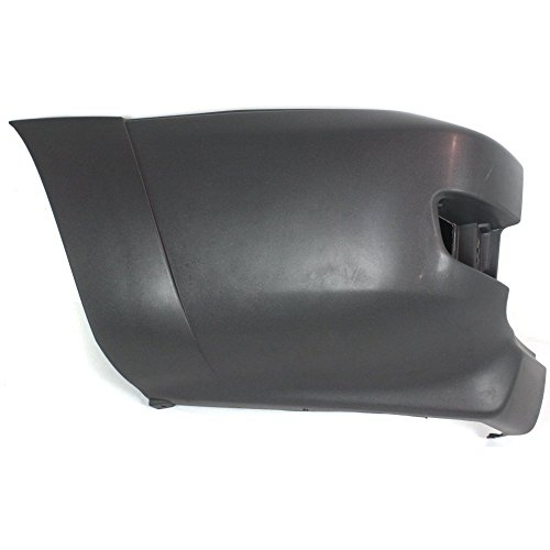 Compatible with Toyota 4Runner 03-05 Rear Bumper End Cover Extension Textured SR5 Model Left Side Plastic Textured