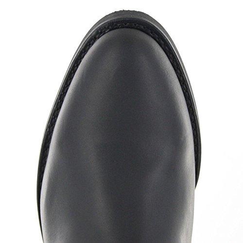 Fb Moda Stivali Sendra Stivali Stivali Diego 5588 Negro / Stivali Da Cowboy Da Uomo Nero / Western Stivali / Stivali Da Equitazione Negro