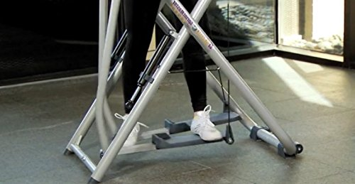 Exercise Fitness Equipment-Edge Step Machine with Workout DVD and Water Bottle