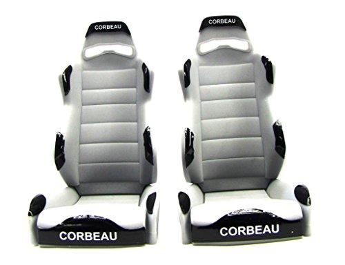Axial Wraith Corbeau Reclining SEATS (#A80080) - Seat Corbeau