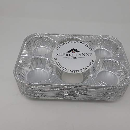 Disposable Cupcake Trays Katgely 12 Cavity Cupcake