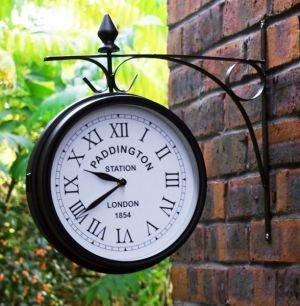 Outdoor Garden Clock - Paddington - 27cm (10.5'') by The Outdoor Shop
