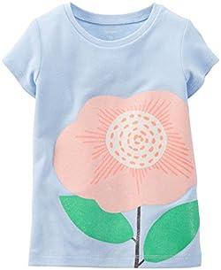 Carter's Baby Girls' Flower Tee (Baby)