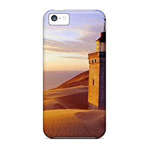 Fashion Protective Lighthouse Case Cover For Iphone 5c