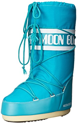 Tecnica Unisex Moon Nylon Fashion Boot Turquoise qAqZh