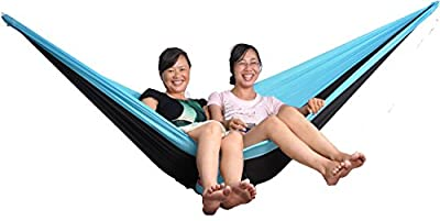 Cutequeen trading Hammock Durable Polyester Webbing Straps Tree Straps excellent Tree Strapping for Slings and Swings with Carabiner Hooks - Includes Carry Bag