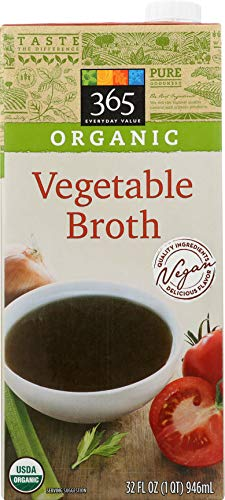 - 365 Everyday Value, Organic Vegetable Broth, 32 fl oz