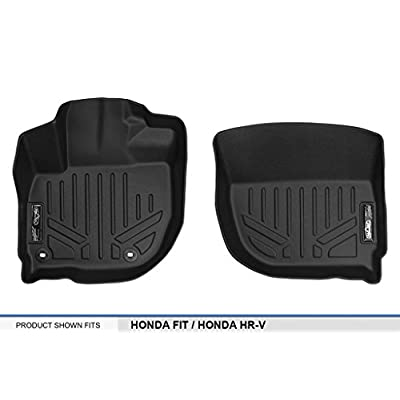 MAX LINER A0193 for 2015-2020 Honda Fit / 2016-2020 Honda HR-V, Black: Automotive