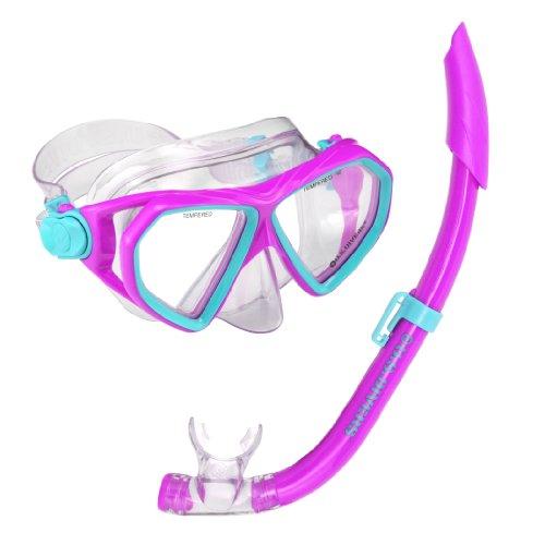 Breeze Mask - U.S. Divers Youth Dorado Seabreeze JR Snorkel Mask, Fun Purple