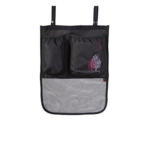 Okiedog- cochecito bolsa de accesorios, Nero (negro)
