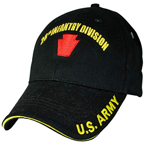 28th Infantry Division Low Profile Cap Black
