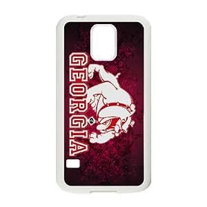 Hot Georgia Bulldogs Protect Custom Cover Case for Samsung Galaxy S5 UAL-38243