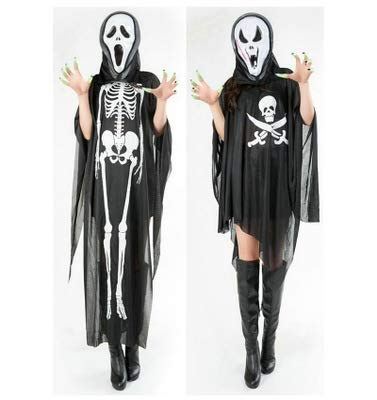 Halloween costumes, games, costumes, characters dressed in black skeleton skeletons, ghost costumes, ghost -