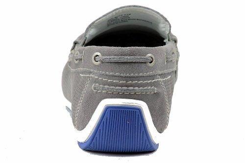 Gbx Mens 13452 Suskin Mode Mocassins Gris Chaussure