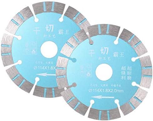 uxcell ダイヤモンドソーブレード ダイヤモンド製 110mmモンド鋸刃径 2個入り