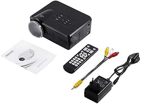 Mini LED Video Proyector TV portátil DVD Proyectores de Juegos ...