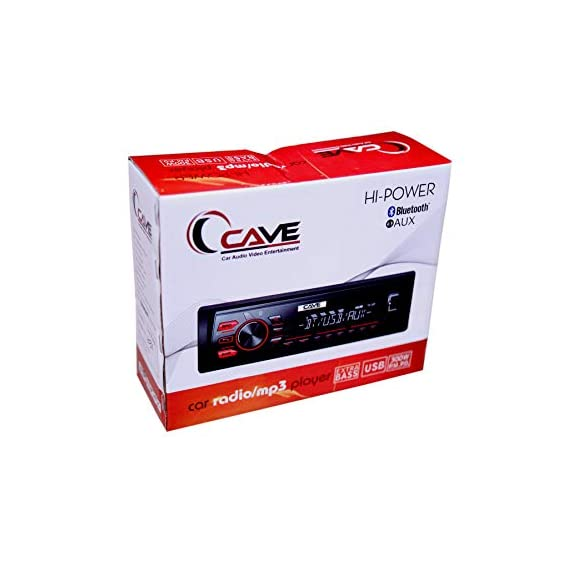 Cave car MP3 Player with USB Port SD Cards Bluetooth AUX car Stereo Set car tap and FM Radio (cave 104)