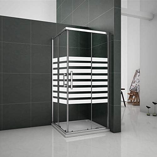 Puertas Correderas 90x90x195cm Mampara de ducha Angular 6mm ...