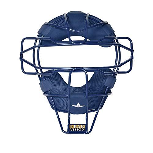 All-Star Ultra Cool Lightweight Catchers Face Mask Navy -
