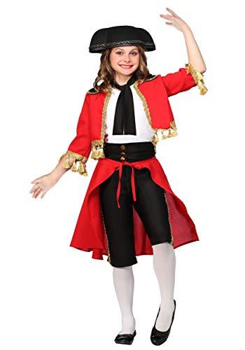 Beautiful Matador Girls Costume Medium -