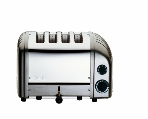 Dualit Classic 4-Slice Toaster, Charcoal by Dualit