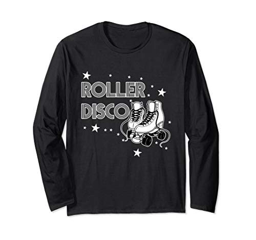 Ls Home Shirt Retro - Roller Disco Retro 70's 80's Party Long Sleeve