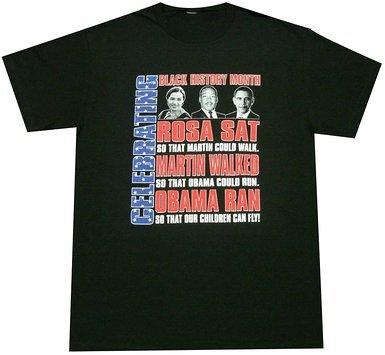 Black History Month T-shirt ~ Rosa Martin Obama