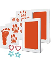 Baby Handprint and Footprint Ink Kits Pads 2 Pack Medium/Large Size Pet Paw Print Ink Kits for Babies and Pets