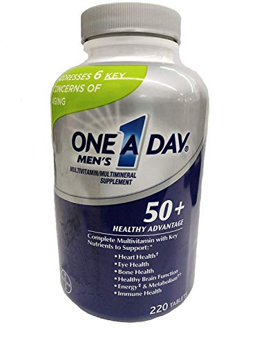 One-A-Day Men's 50+ Multivitamin (220 Tablets) (B01N6JQZQT) Amazon Price History, Amazon Price Tracker