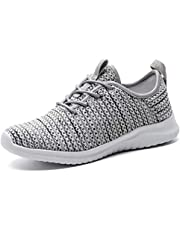 100% authentic 60fab ed094 konhill Women s Casual Walking Shoes Breathable Mesh Work Slip-on Sneakers