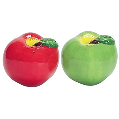 Boston Warehouse Apple Pickin' Salt and Pepper Set