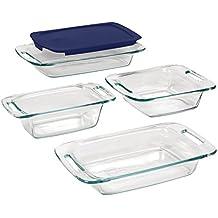 Pyrex Easy Grab Glass Bakeware Set (5-piece)