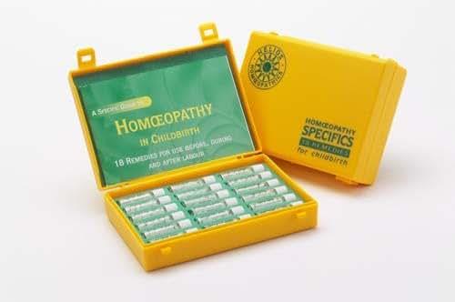 18 Remedy Homeopathic Childbirth Kit