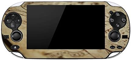 One Side Piece of Old Parchment Design Print Image Playstation Vita Vinyl Decal Sticker Skin by Trendy Accessories by Trendy Accessories