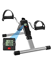 HomeBuddy Fitness Folding Pedal, Black/Silver