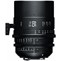 Sigma T1.5 Cine 85mm Full Frame High Speed Prime Lens with PL Mount, 3 Minimum Focus Distance