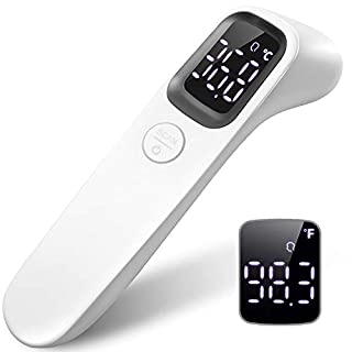 Infrared Forehead Thermometer Gun for Babies Children Adults, Non-Contact Medical Thermometer for Fever with Accurate Digital Readings Immediately