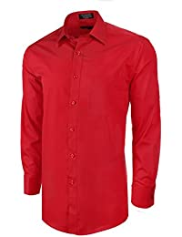 Cotton Blend Dress Shirt with Convertible French Cuffs and Silk Knots
