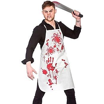bloody apron unisex adult halloween fancy dress kitchen dining. Black Bedroom Furniture Sets. Home Design Ideas