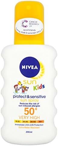Nivea Spf 50 Plus Sun Kids Sensitive 200ml